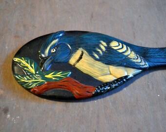 Vintage Hand Mirror Bird