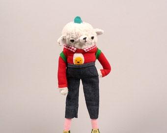 Sheepish Sheep Plush - made to order