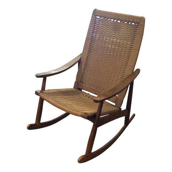 Vintage Mid-Century Rocking Chair