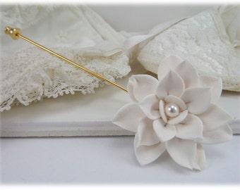 Lotus Brooch or Stick Pin - Lotus Jewelry