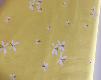 SALE Fabric, Butterfly fabric, Yellow fabric, Art Gallery Fabrics, Choose Your Cut