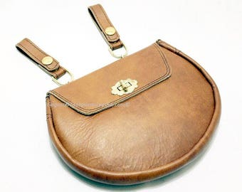 Brown Leather Sporran - Bag - Pouch  (BAG129)