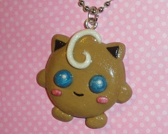 Pokemon - Jigglypuff Christmas Cookie Charm Necklace - Limited Edition