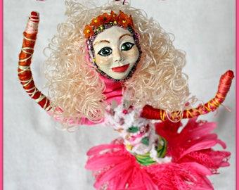 Blodeuwedd Spirit Doll