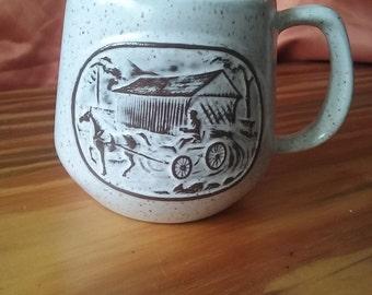 Vintage 1984 Onion River Pottery Mug