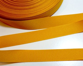 Gold Ribbon, Offray Gold Grosgrain Ribbon 7/8 inch wide x 10 yards