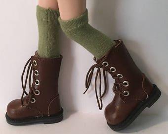 Tall Olive Green Socks...For Blythe...