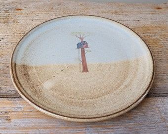 Rustic Treehouse Side Plate