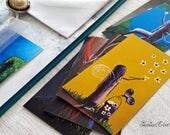 Junk Journal Supplies - Inserts - Fairy Pack - Set of 12 - Smash Book Bundle Kit - DIY Art Journal - Journal Inserts - Erback Designs