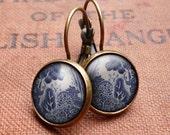 Willow No.3 Leverback Earrings (BP08)