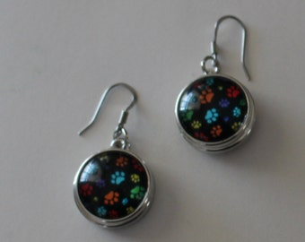 PAW PRINT Earrings - Dogs, Cats