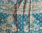 Silk Kimono Robe - Upcycled Sari Silk - Fits Medium and Larger