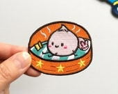 Little Steamed Bun Iron On Patch