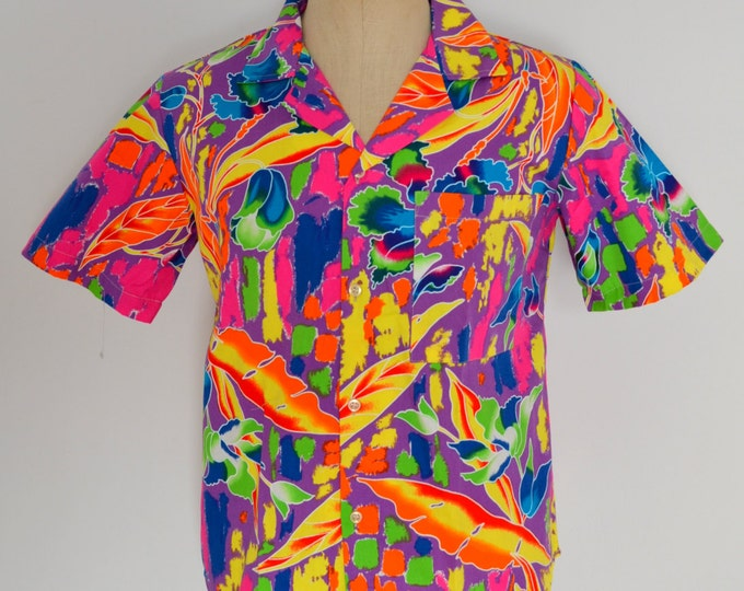 Funky Dead Stock Men's Shirt from the 1980's.
