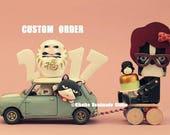 Wedding Cake Topper ----Custom Order