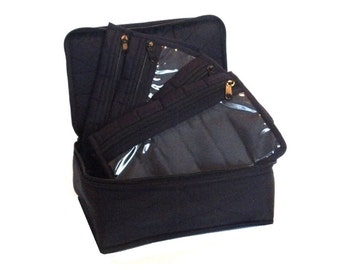 Yazzii 4-Pocket Organizer - BLACK