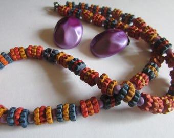 Purple clay set