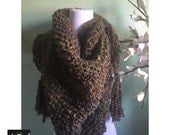 Outlander Inspired Hand Knit Claire's Shawl