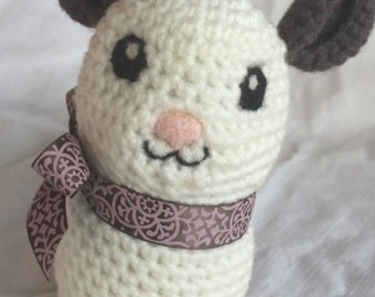 Amigurumi Chinchilla Plush