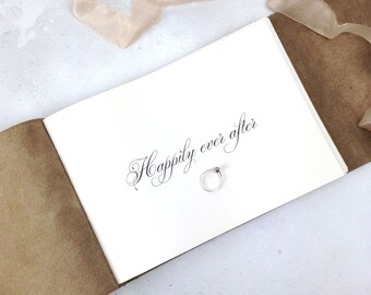 Wedding Guest Book: White and Natural with Mohawk Superfine pages for simple style brides and weddings. Made in UK ships worldwide