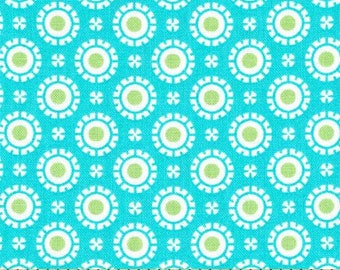 MODA Hi De Ho Fancy Dots Turquoise 22252 16