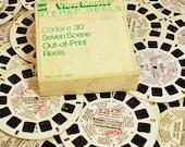 Vintage View-Master Reels