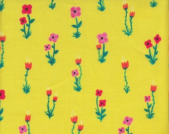 Windham Fabrics Meriwether Floral in Yellow - Half Yard