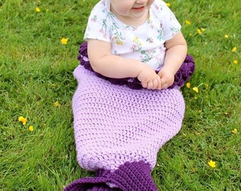 Mermaid Tail Blanket - Mermaid Tail, Crochet Mermaid Blanket, custom order, The Little Mermaid, Gift for Her, Mermaid Blanket, Crochet