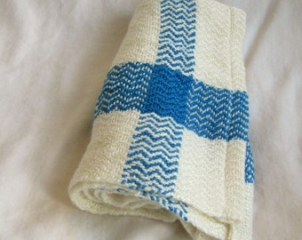 Blue and White Tea-towel