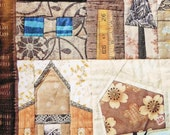 Quilt Pattern - Houses by Johanna Masko