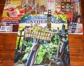 Mercantile Gatherings Magazine Spring 2017 Country Sampler Home Tours 2017 and Country Sampler January 17  Issues  Lot