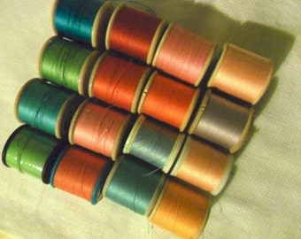 Sewing Threads - Rainbow of Colours