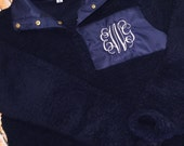 Monogram Sherpa, Pullover Sherpa, Pullover, Adult Sherpa Pullover, Adult Pullover, Monogrammed Pullover, Monogrammed Sherpa Pullover