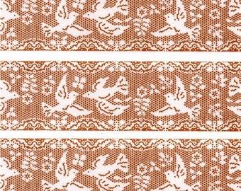 193871 mt Washi Masking Tape deco tape embroidery bird beige