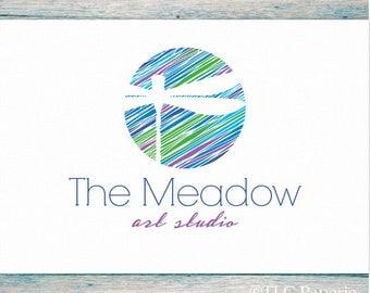 Dragonfly Logo, Art Craft Logo, Studio Logo, Insect Logo, Garden Logo