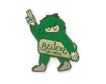 Believe Sasquatch Patch