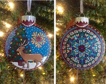 "Pysanka Designs Ornament 4 1/2"""