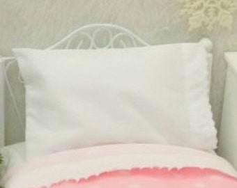 Doll Pillowcase and Pillow- American Girl Foll size bedding
