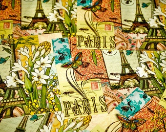 Postcards From Paris 2 Fine Art Print - Travel, Scenic, Landscape, Nature, Home Decor, Zen