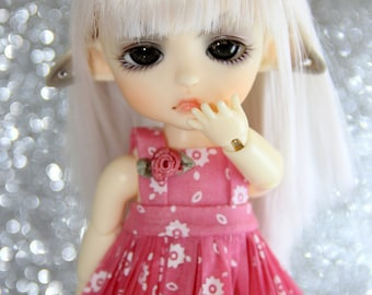 LATI Yellow - Pukifee - Vintage Series - Dress and Bow Hairclip SET - #7