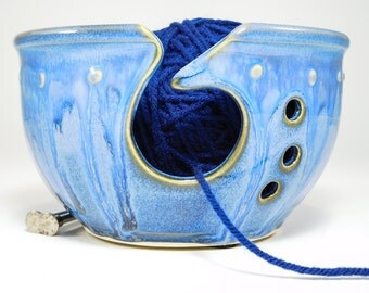 Bowl For Knitting - 20% Off - Bowl Yarn - Bowl For Yarn - Yarn Bowl Ceramic - Clay Yarn Bowl - Ceramic Yarn Bowl - In Stock