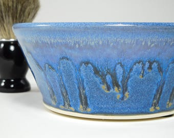 Shaving Soap Dish - Large Wetshave Dish - Pottery Shaving Dish - Bowl For Shaving - Shaving Cup - Pottery Shave Dish - In Stock