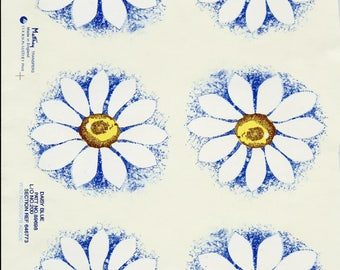 Decal for Ceramics, vintage, floral, daisy
