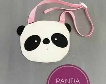 Panda Purse. Handmade, Girl, Gift