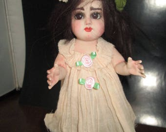 artist made porcelian collector doll