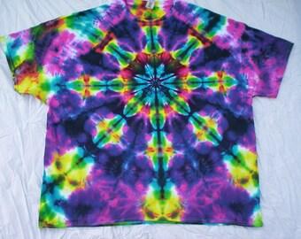 Kaleidoscope Tie Dye Choose Size S - 5XL