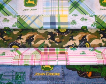 JOHN DEERE #3  Fabrics, Sold INDIVIDUALLY not as a group, by the Half Yard