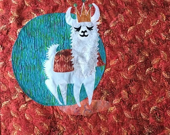 LLama!  Quilt Kit (includes pattern and fabrics)