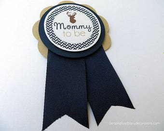 Deer Baby Shower Decorations, Little Buck Baby Shower Decorations, Baby Shower Décor, Deer Baby Shower MOMMY TO Be Pin, Custom Colors