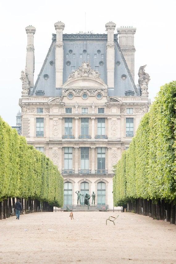 Paris Photography, Spring Morning in The Tuileries , Paris France, Paris Gardens, Paris decor, Louvre, Rebecca Plotnick, Parisian, French